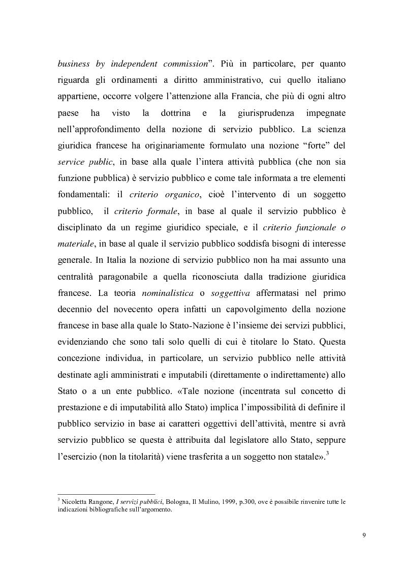 Anteprima della tesi: Concorrenza e regolazione nel trasporto ferroviario passeggeri: il difficile cammino delle riforme, Pagina 6
