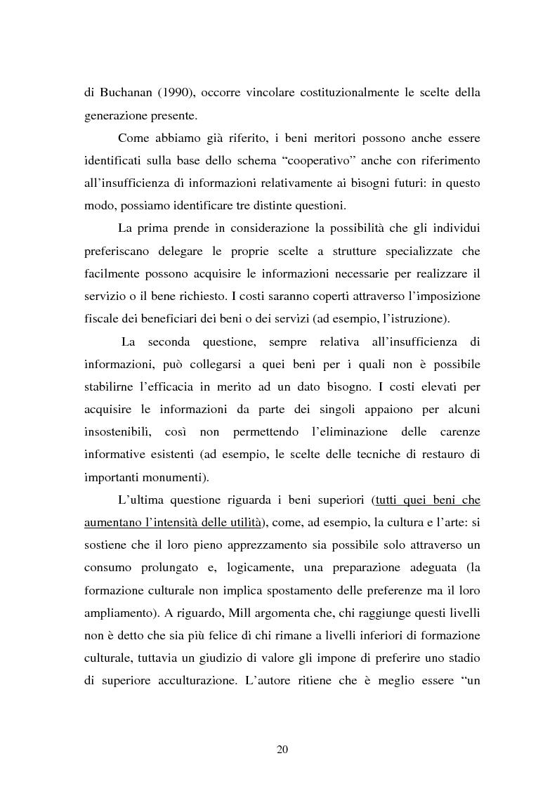 Anteprima della tesi: La Valutazione Economica dei Beni Culturali, Pagina 15