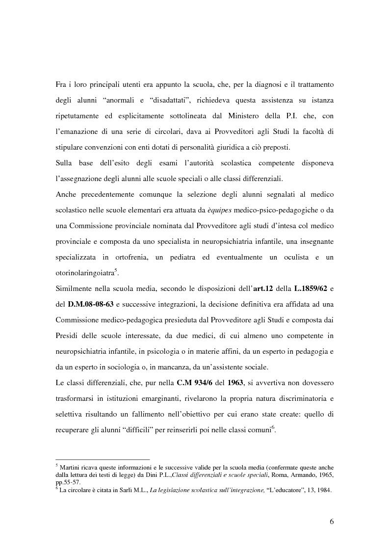 Anteprima della tesi: Quale Operatore psicopedagogico? Dallo Psicopedagogista al Formatore scolastico, Pagina 6