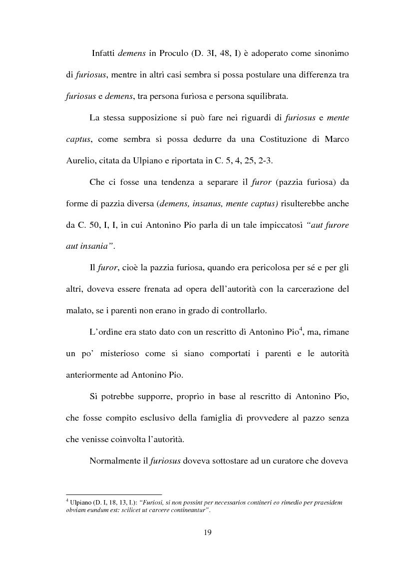 Anteprima della tesi: Furiosus vel demens, Pagina 4