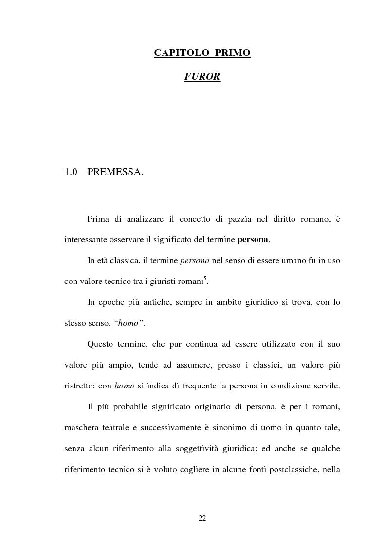 Anteprima della tesi: Furiosus vel demens, Pagina 7