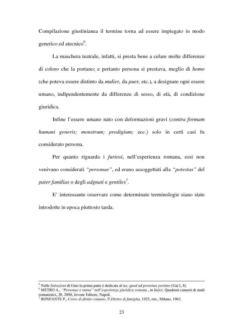 Anteprima della tesi: Furiosus vel demens, Pagina 8
