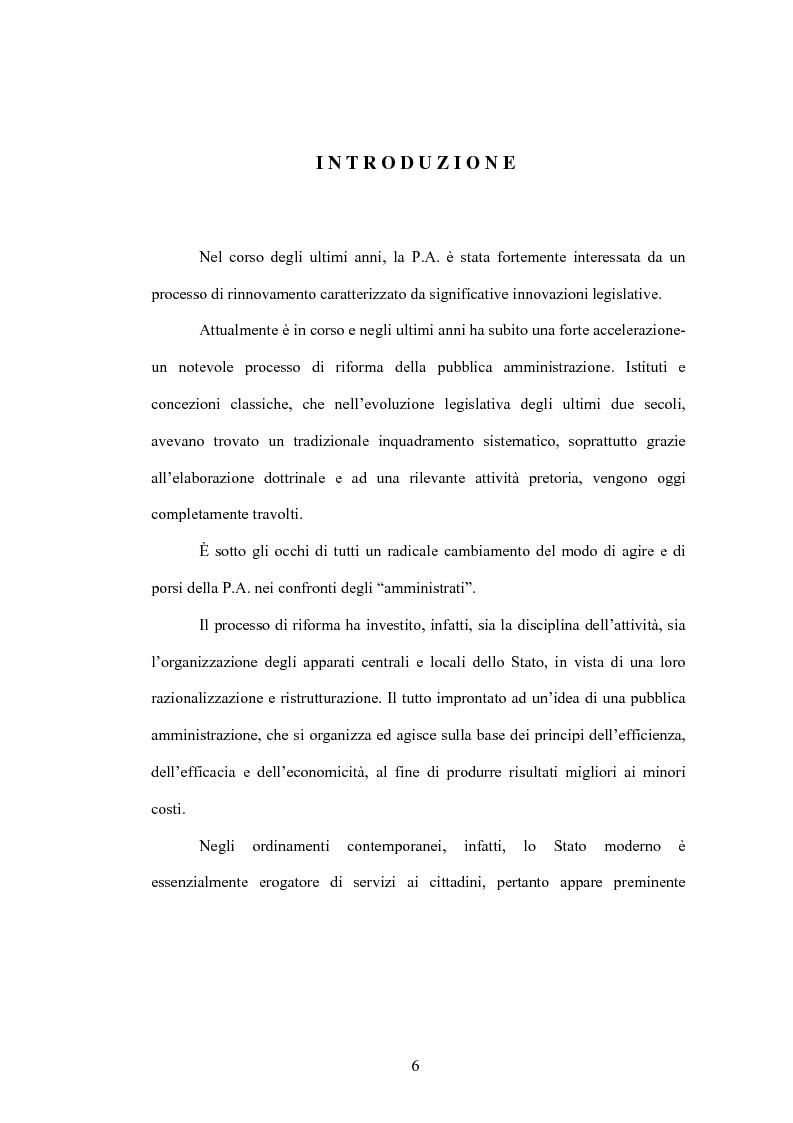 Anteprima della tesi: Aspetti evolutivi della gestione dei servizi di pubblica utilità, Pagina 1