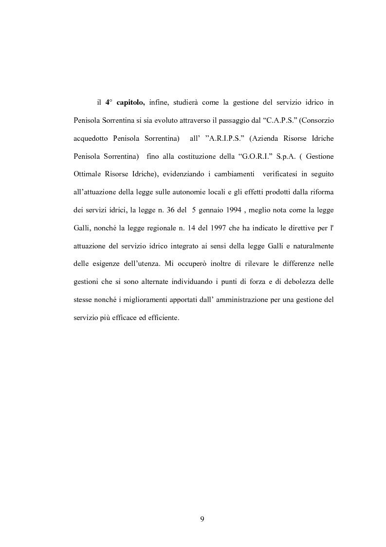 Anteprima della tesi: Aspetti evolutivi della gestione dei servizi di pubblica utilità, Pagina 4