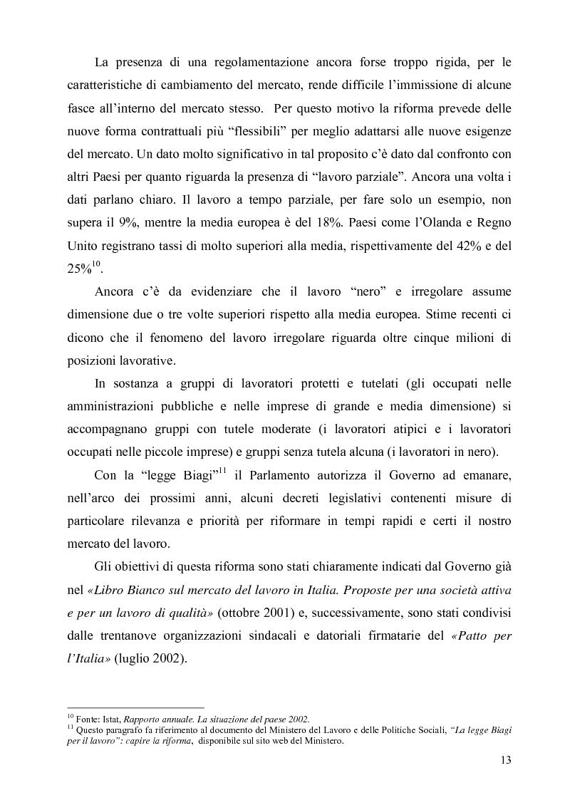 Anteprima della tesi: Politiche di sostegno alla mobilità geografica Sud-Nord, Pagina 12