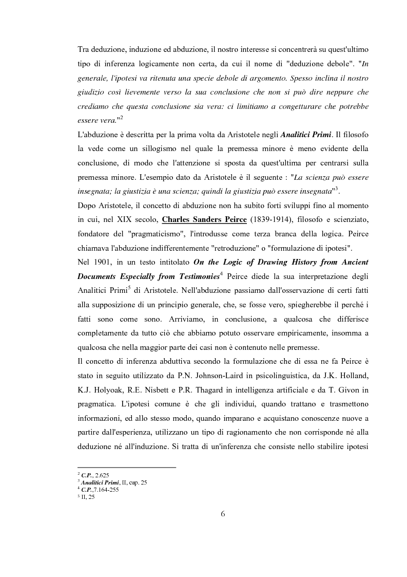 Anteprima della tesi: Traduzione e Abduzione, Pagina 3
