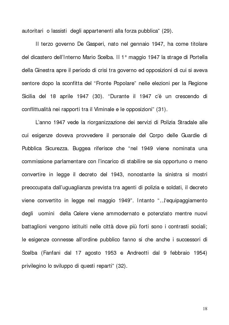 """Anteprima della tesi: In nome del """"dovere"""". Selezione e formazione degli operatori dell'ordine, Pagina 15"""