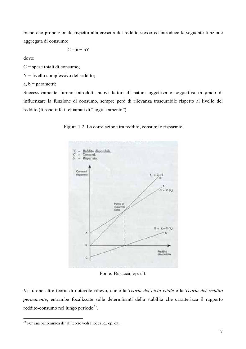 Anteprima della tesi: Il consumatore del servizio commerciale. Fondamenti teorici e prassi d'impresa: il caso Unicoop Tirreno, Pagina 12
