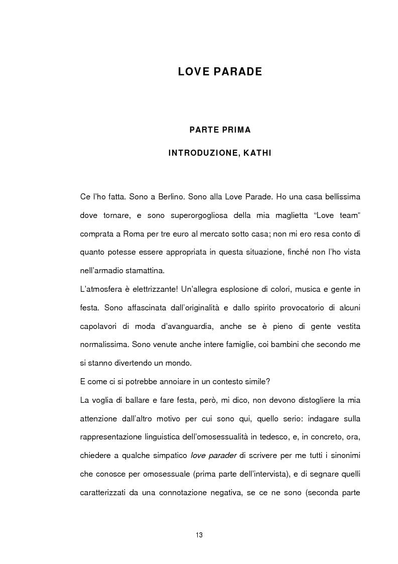 Anteprima della tesi: Studio sociolinguistico sulla comunità gay di Berlino, Pagina 1
