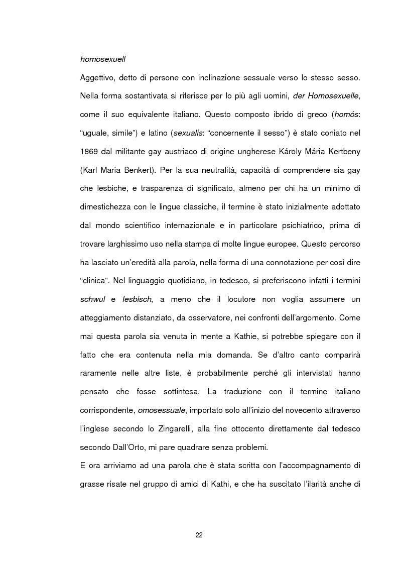 Anteprima della tesi: Studio sociolinguistico sulla comunità gay di Berlino, Pagina 10