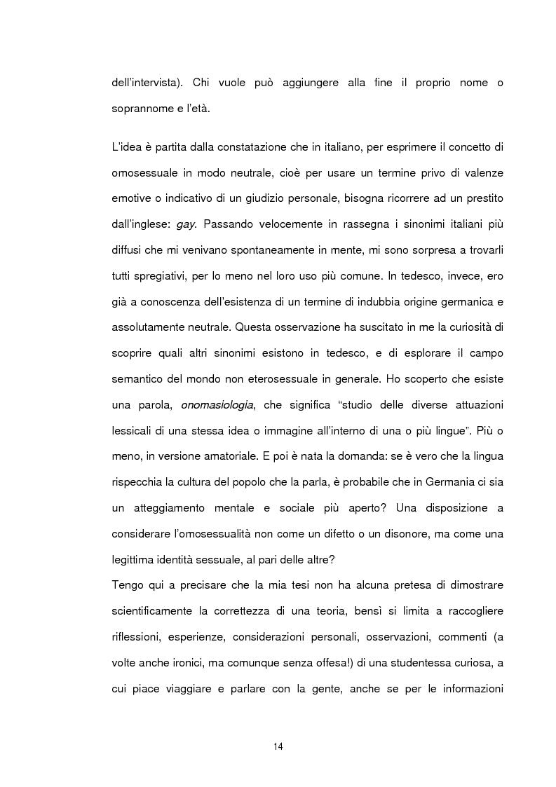 Anteprima della tesi: Studio sociolinguistico sulla comunità gay di Berlino, Pagina 2