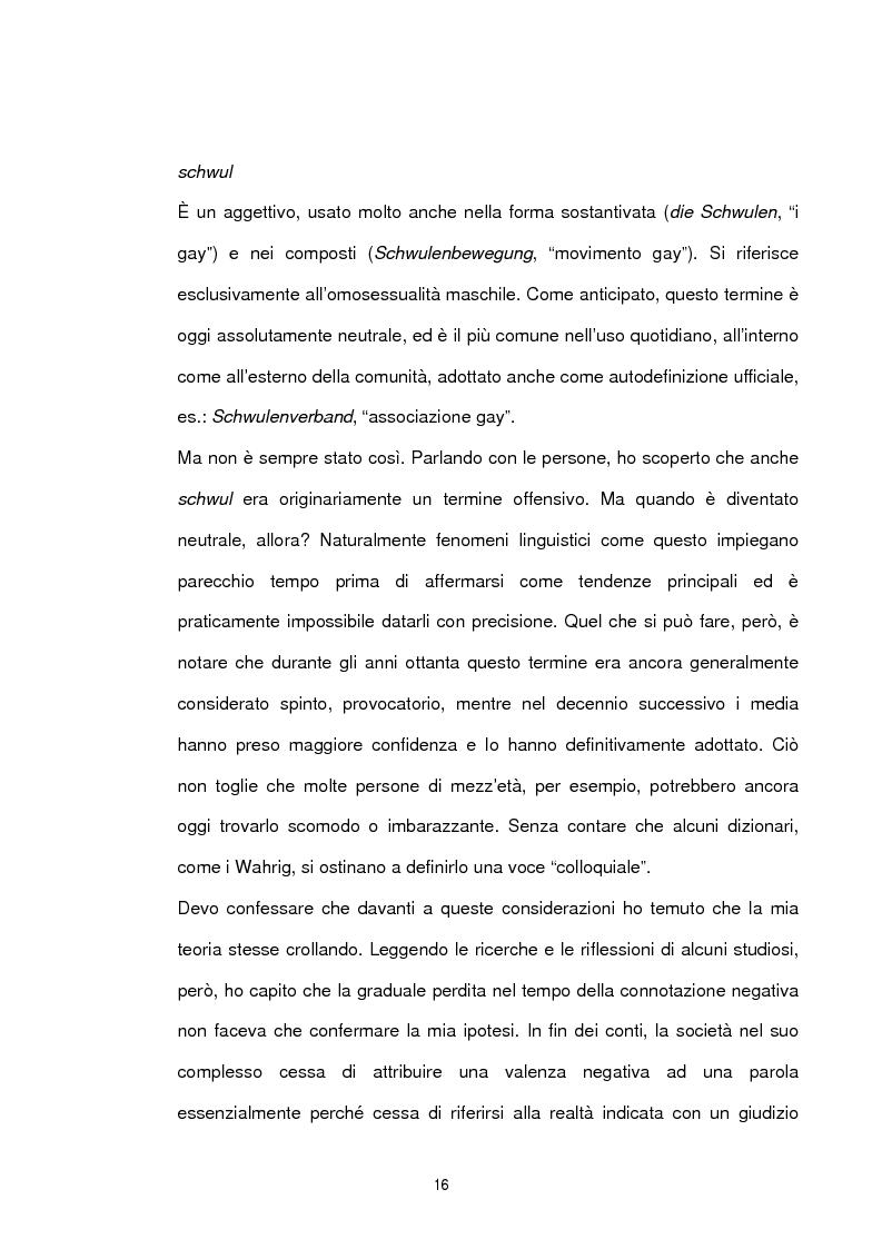Anteprima della tesi: Studio sociolinguistico sulla comunità gay di Berlino, Pagina 4