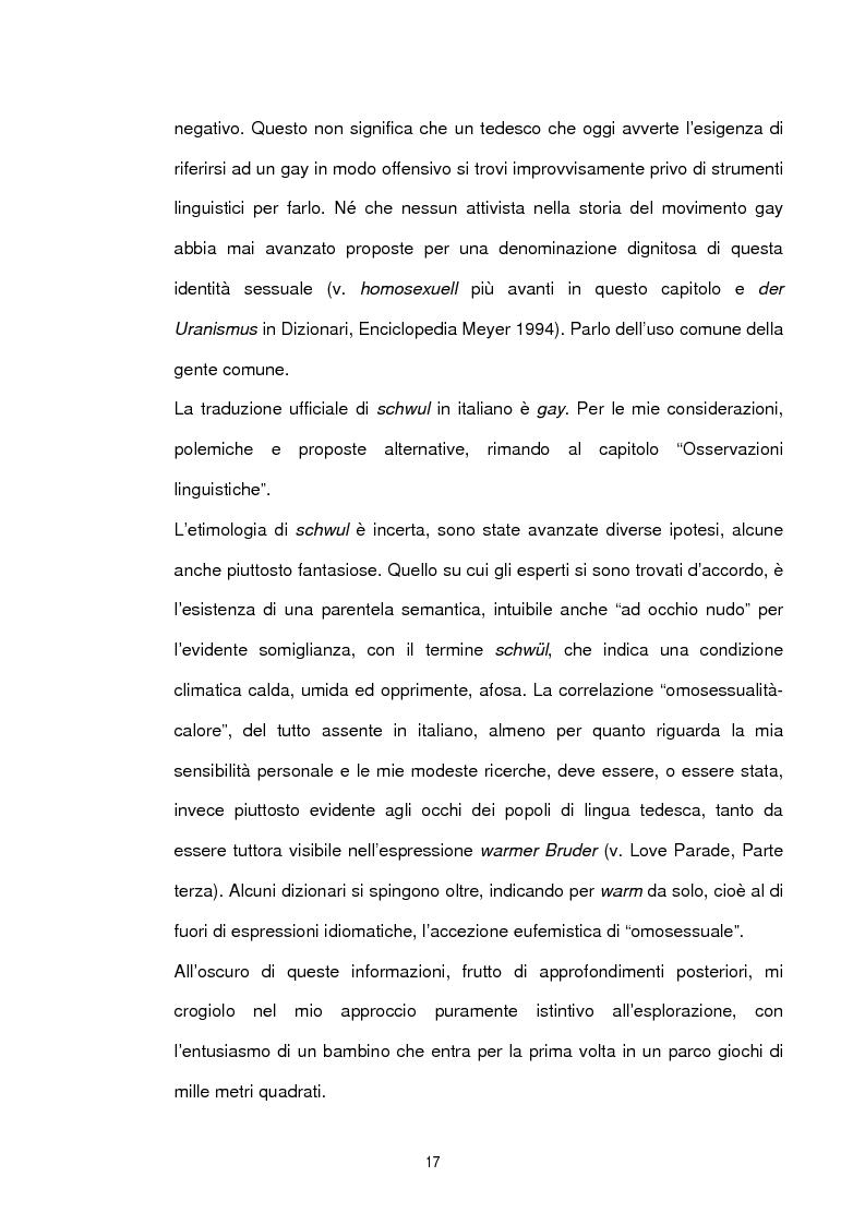 Anteprima della tesi: Studio sociolinguistico sulla comunità gay di Berlino, Pagina 5