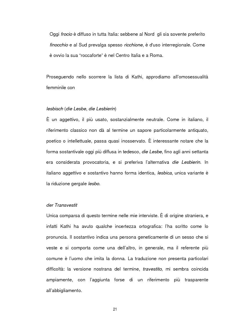 Anteprima della tesi: Studio sociolinguistico sulla comunità gay di Berlino, Pagina 9