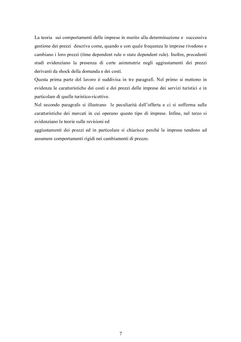 Anteprima della tesi: Decisioni di prezzo delle imprese turistiche del distretto di Villasimius, Pagina 4