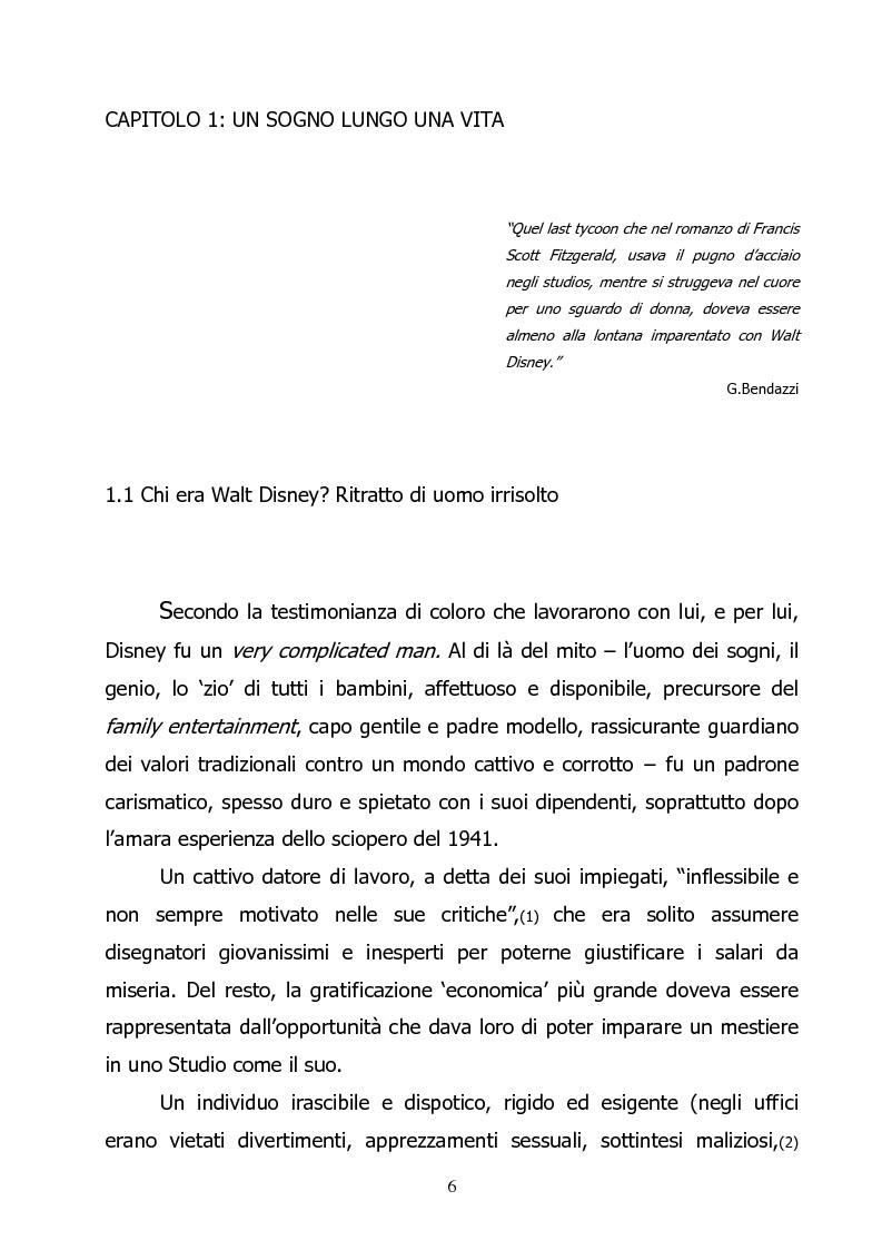 Anteprima della tesi: L'ideologia di Walt Disney, Pagina 4