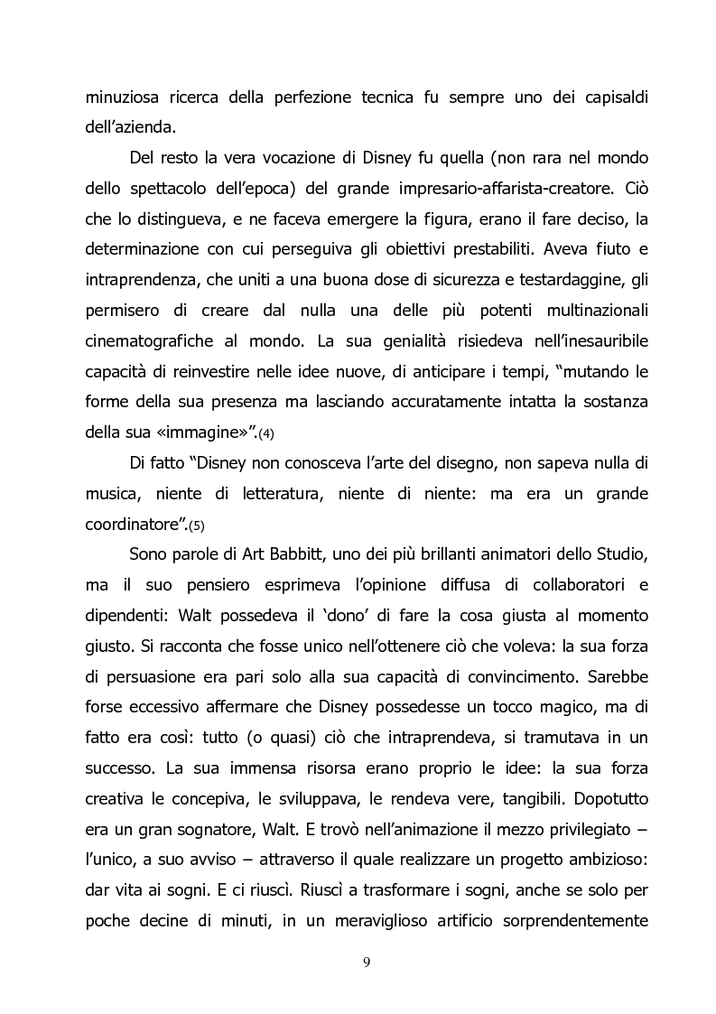 Anteprima della tesi: L'ideologia di Walt Disney, Pagina 7