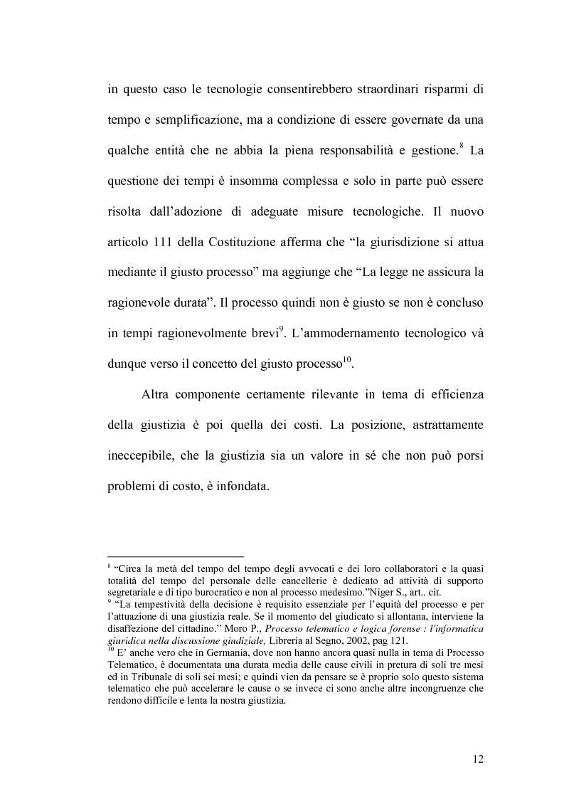 Anteprima della tesi: L'informatizzazione del processo civile, Pagina 7