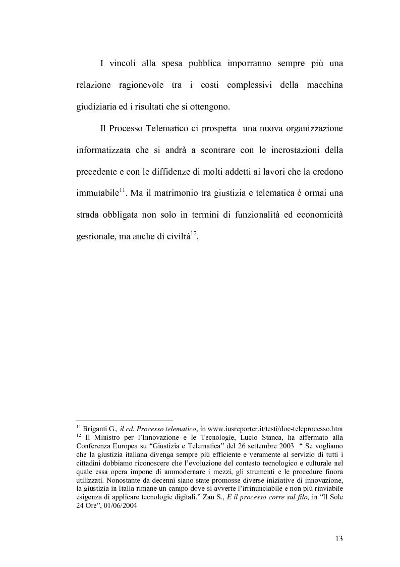 Anteprima della tesi: L'informatizzazione del processo civile, Pagina 8