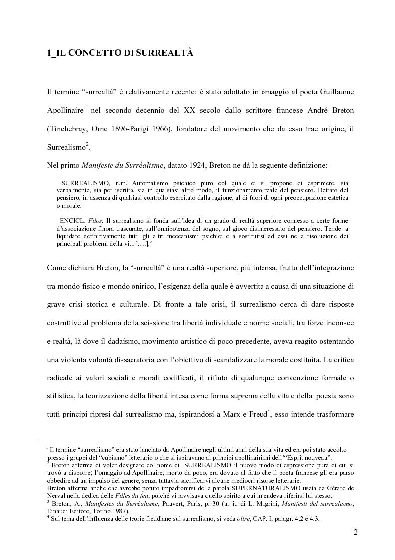 Anteprima della tesi: Il surrealismo e la visione: René Magritte e Alexandre Alexeieff, Pagina 11