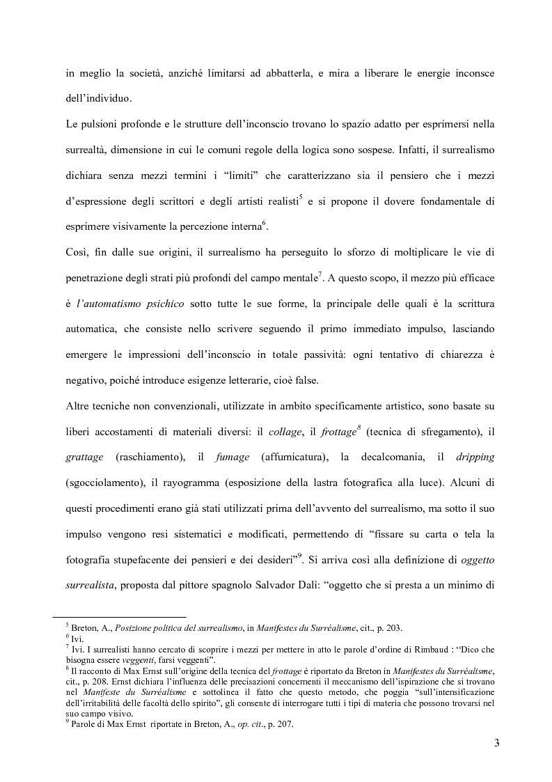 Anteprima della tesi: Il surrealismo e la visione: René Magritte e Alexandre Alexeieff, Pagina 12