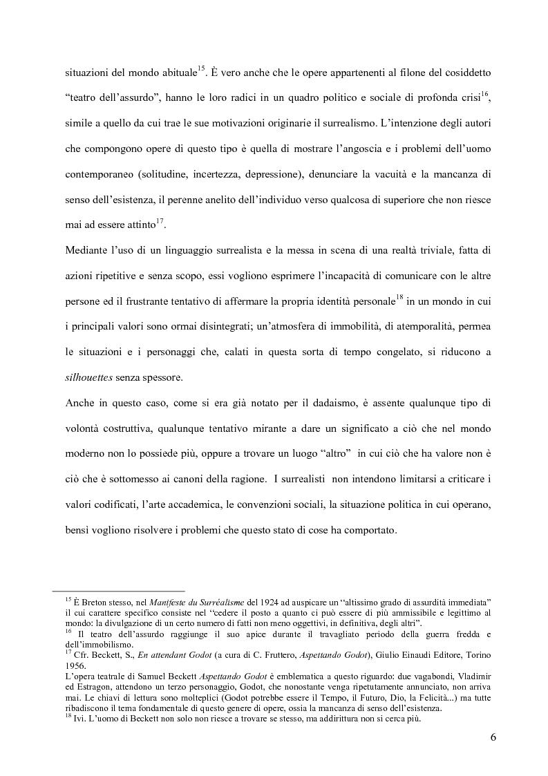 Anteprima della tesi: Il surrealismo e la visione: René Magritte e Alexandre Alexeieff, Pagina 15
