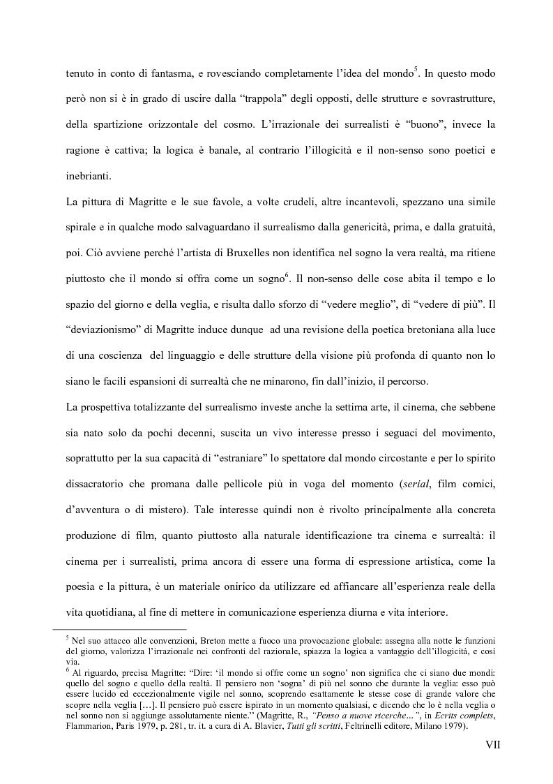 Anteprima della tesi: Il surrealismo e la visione: René Magritte e Alexandre Alexeieff, Pagina 6