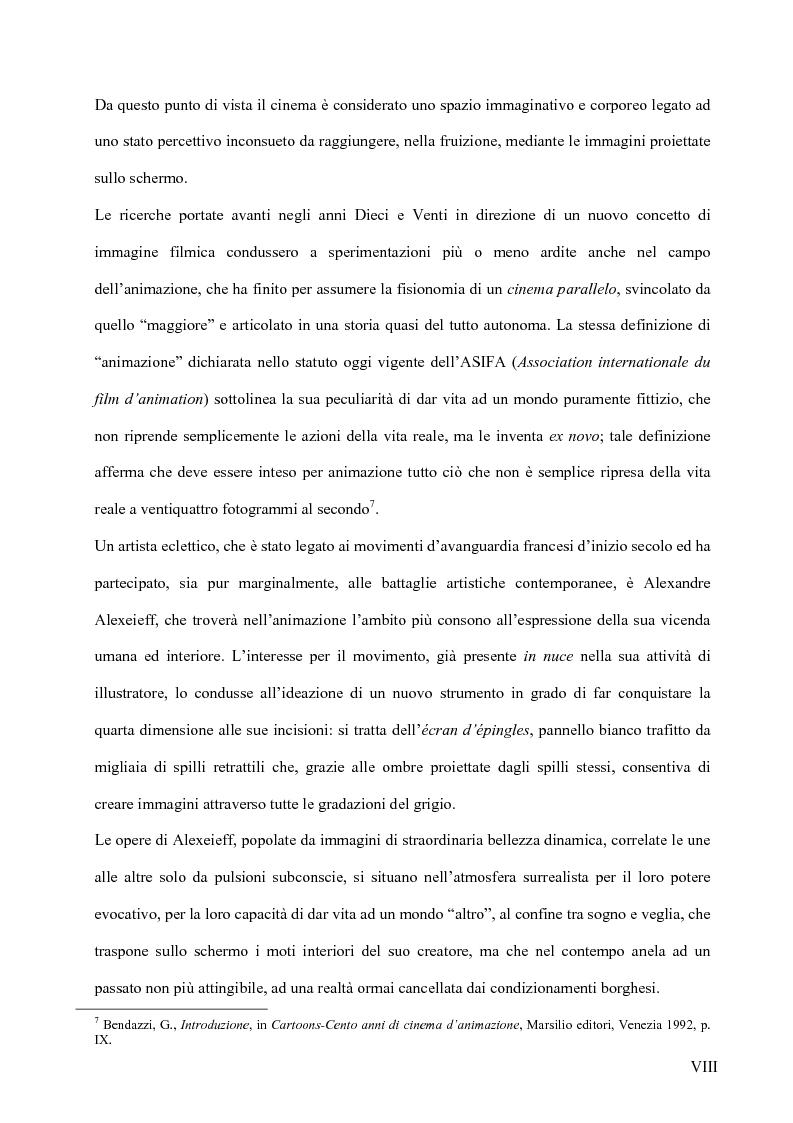 Anteprima della tesi: Il surrealismo e la visione: René Magritte e Alexandre Alexeieff, Pagina 7