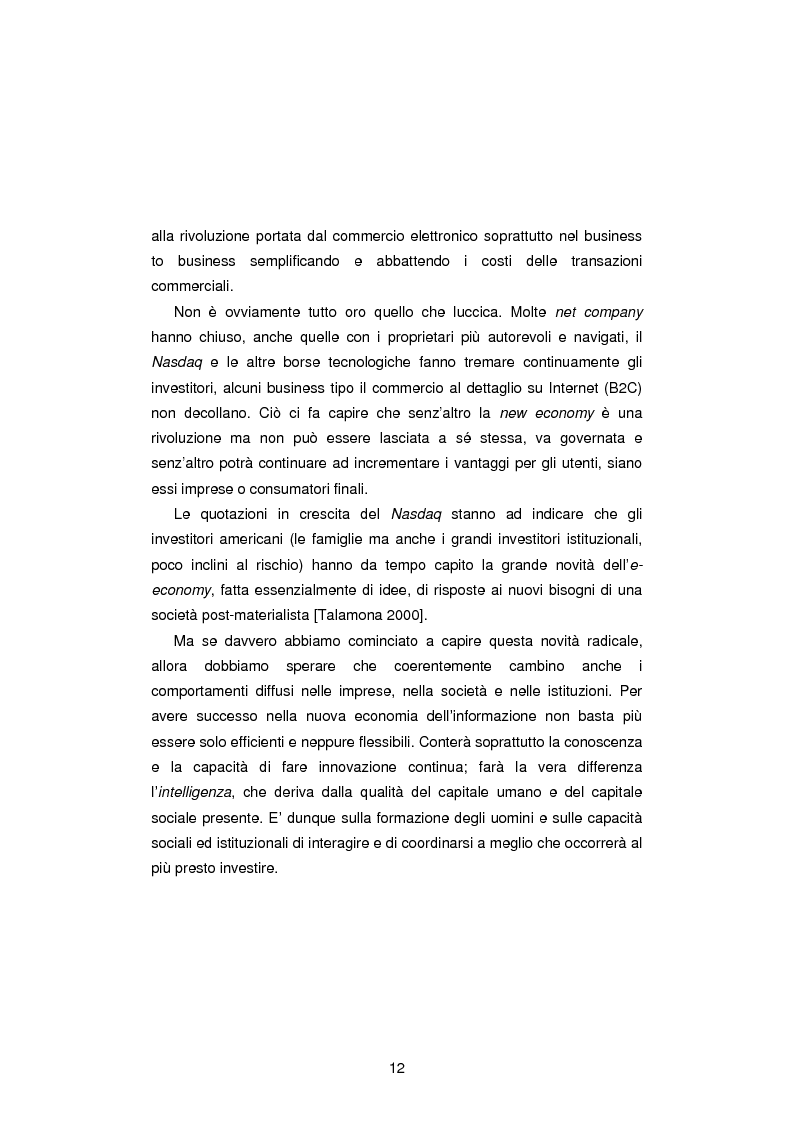 Anteprima della tesi: Gli Indicatori dell'Information and Communication Technology, Pagina 10