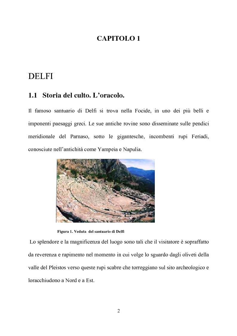 Anteprima della tesi: Delfi - il mistero dell'oracolo, Pagina 10
