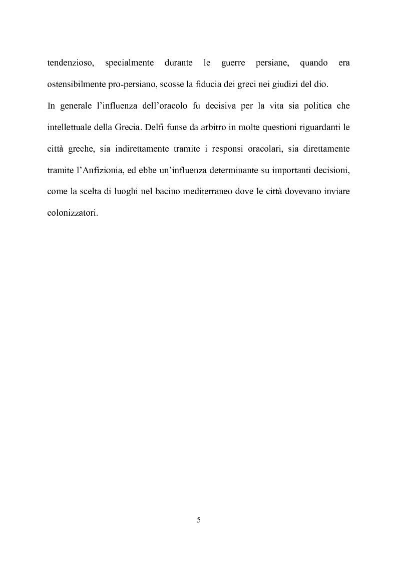 Anteprima della tesi: Delfi - il mistero dell'oracolo, Pagina 13