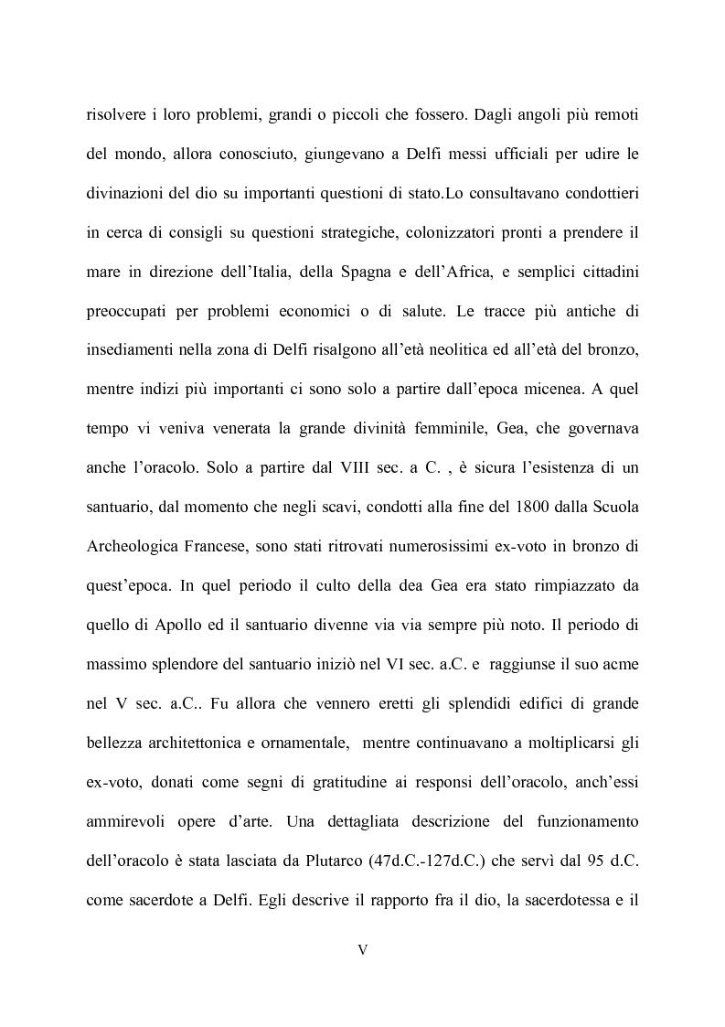 Anteprima della tesi: Delfi - il mistero dell'oracolo, Pagina 3