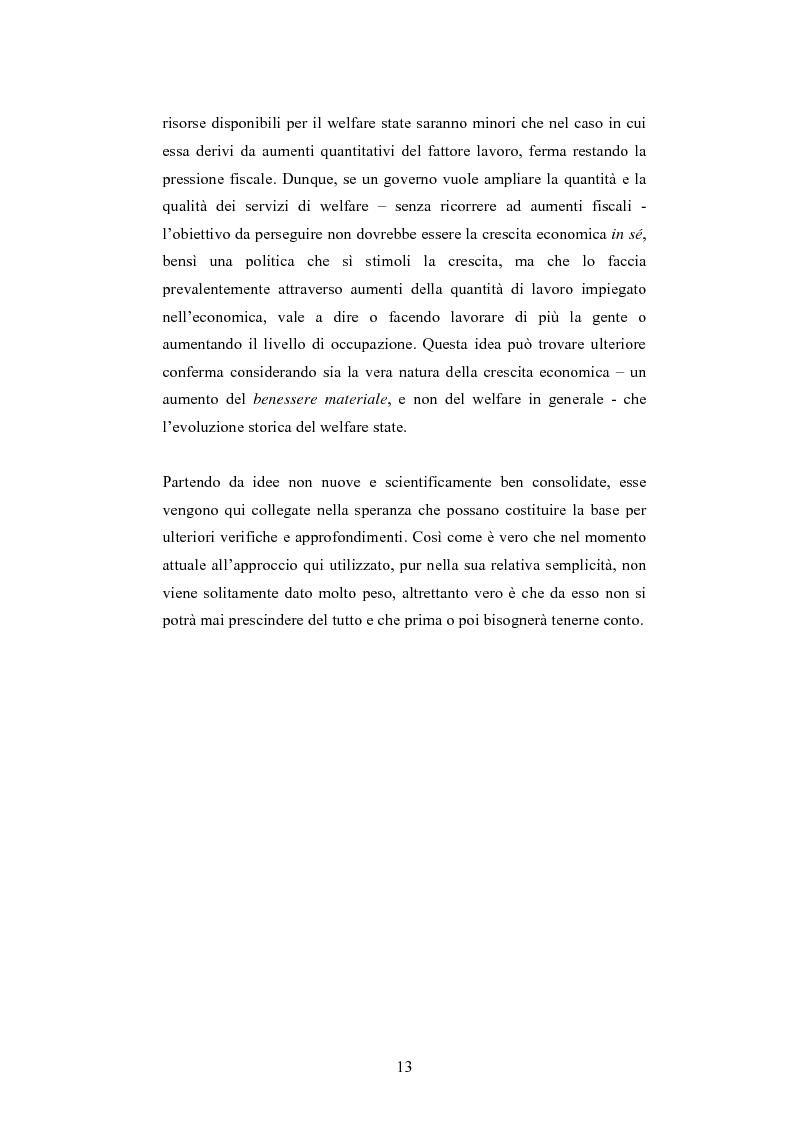 Anteprima della tesi: Tra insicurezza e crescita economica: il difficile bilanciamento del welfare state, Pagina 5