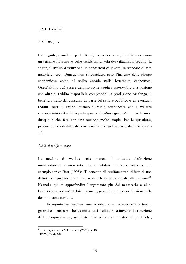 Anteprima della tesi: Tra insicurezza e crescita economica: il difficile bilanciamento del welfare state, Pagina 8