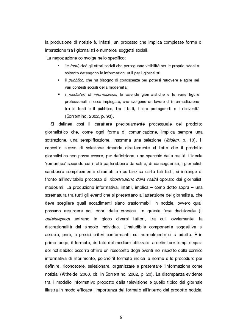 Anteprima della tesi: Descrizone della copertura informativa del dopoguerra in Iraq. Il caso del Corriere della Sera, Pagina 6