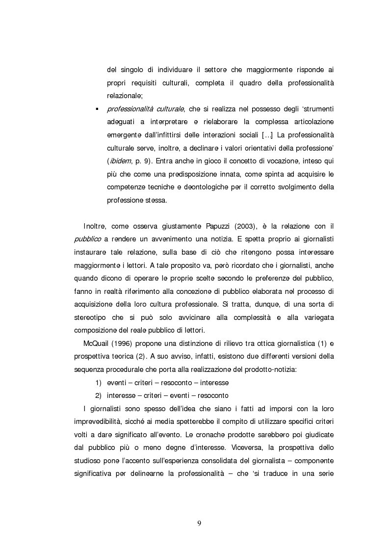 Anteprima della tesi: Descrizone della copertura informativa del dopoguerra in Iraq. Il caso del Corriere della Sera, Pagina 9