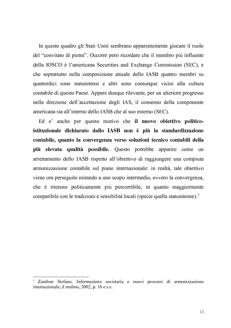 Anteprima della tesi: Il bilancio delle S.p.A. alla luce della nuova riforma del Diritto delle Società, Pagina 9