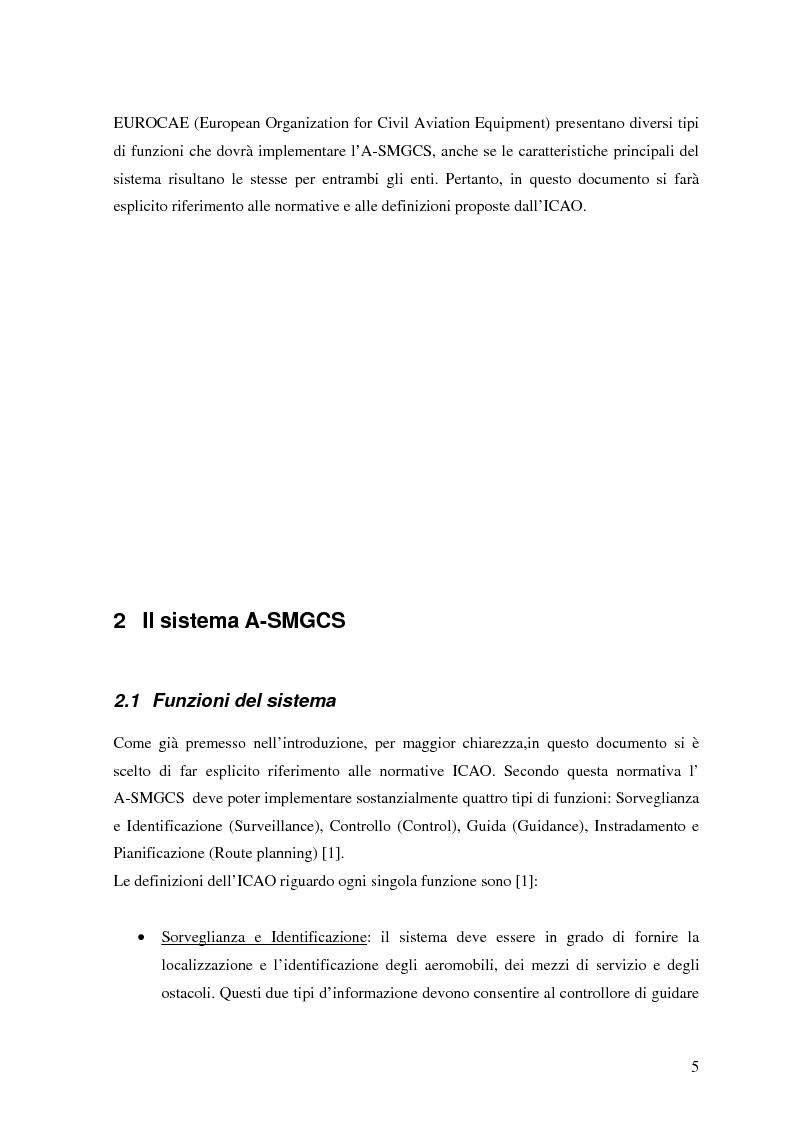 Anteprima della tesi: Il Sistema A-SMGCS: Sensori e Fusione dei Dati, Pagina 3
