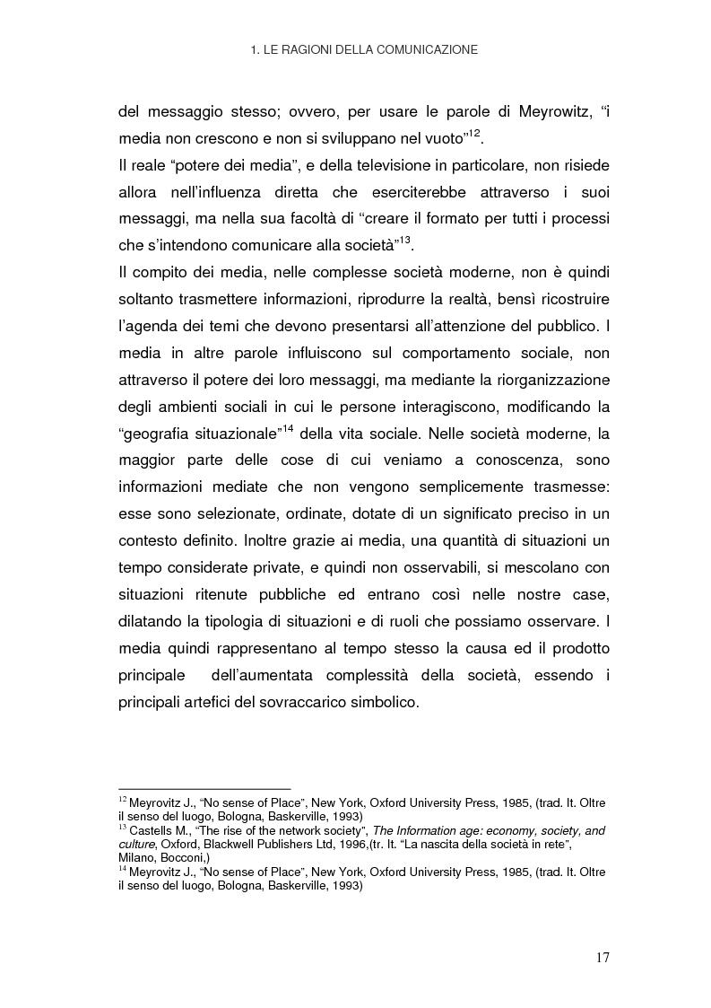 Anteprima della tesi: La Pubblica Amministrazione in rete; Il caso del comune di Pieve a Nievole, Pagina 13