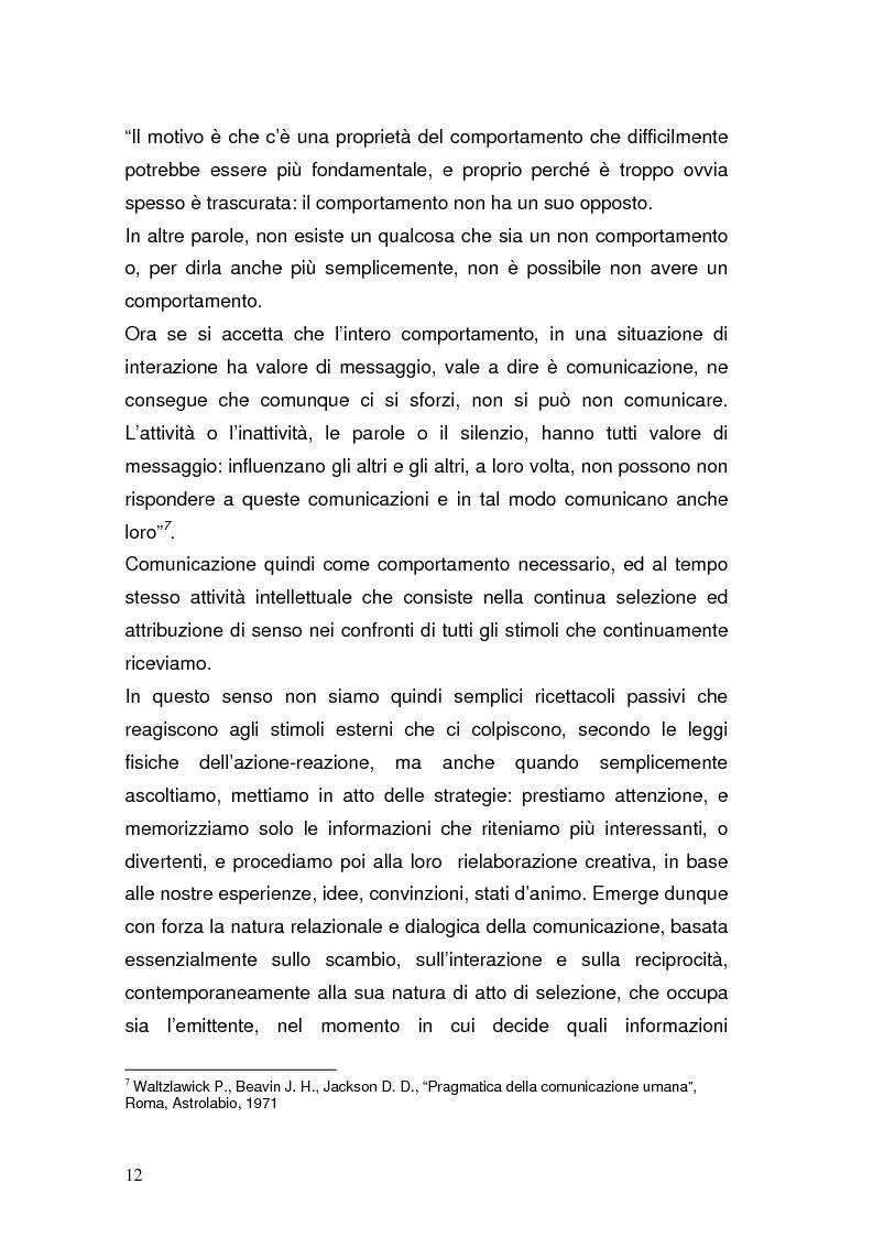 Anteprima della tesi: La Pubblica Amministrazione in rete; Il caso del comune di Pieve a Nievole, Pagina 8