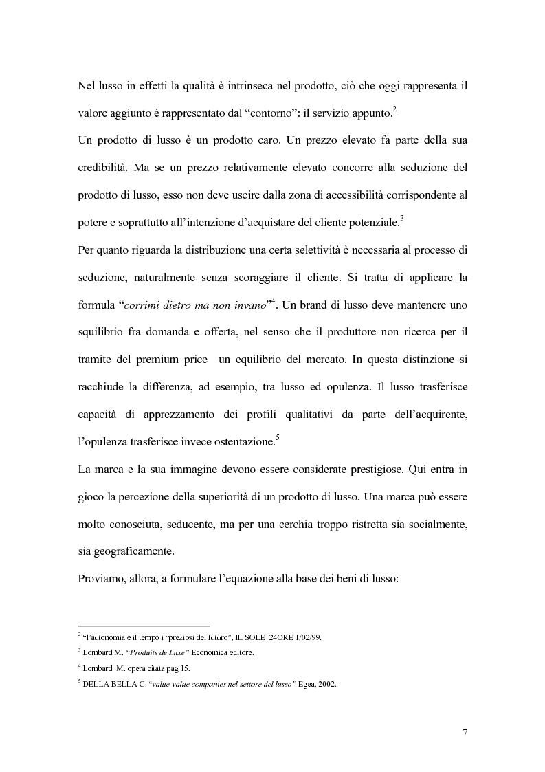 Anteprima della tesi: Percorsi di sviluppo delle imprese nel settore del lusso. I casi LVMH, Hermes e Gucci, Pagina 4