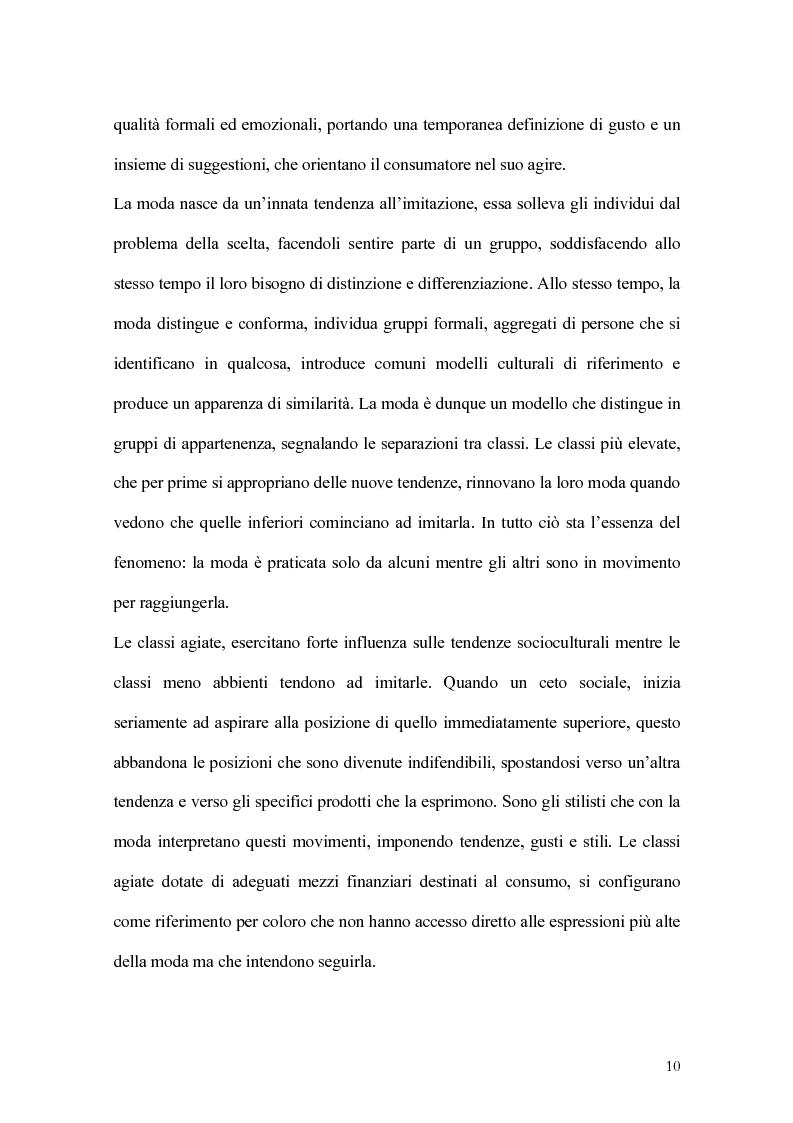 Anteprima della tesi: Percorsi di sviluppo delle imprese nel settore del lusso. I casi LVMH, Hermes e Gucci, Pagina 7