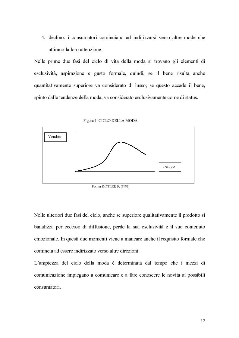 Anteprima della tesi: Percorsi di sviluppo delle imprese nel settore del lusso. I casi LVMH, Hermes e Gucci, Pagina 9