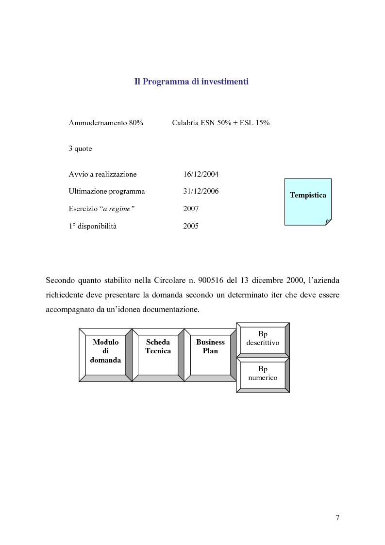 Anteprima della tesi: Gli strumenti di finanza agevolata a favore dello sviluppo delle imprese del settore turistico: il caso del complesso alberghiero ''B.B.'', Pagina 7
