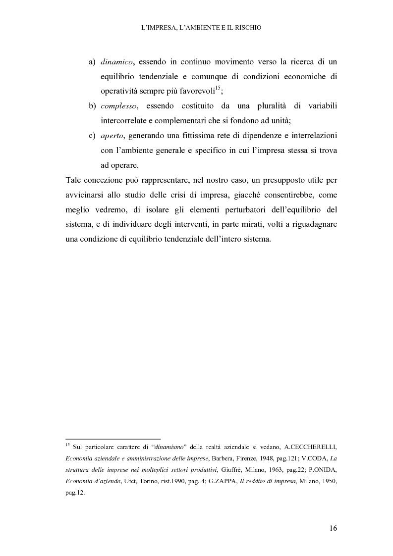 Anteprima della tesi: Crisi di impresa e vie di superamento, Pagina 10