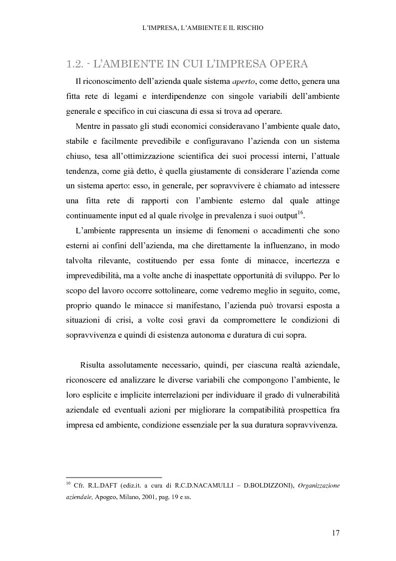 Anteprima della tesi: Crisi di impresa e vie di superamento, Pagina 11