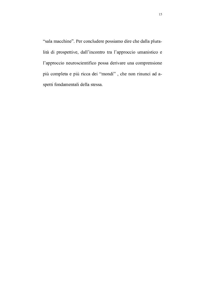 Anteprima della tesi: Evoluzione del rapporto mente-cervello nel pensiero di K.R. Popper e J.C. Eccles, Pagina 12
