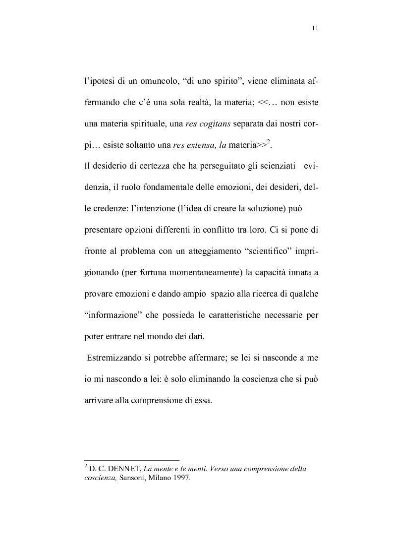 Anteprima della tesi: Evoluzione del rapporto mente-cervello nel pensiero di K.R. Popper e J.C. Eccles, Pagina 8