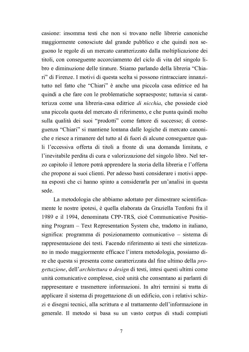 Anteprima della tesi: Dall'informazione esplosa alla conoscenza appetibile. Informatiotion Design per la presentazione di contenuti editoriali, Pagina 5
