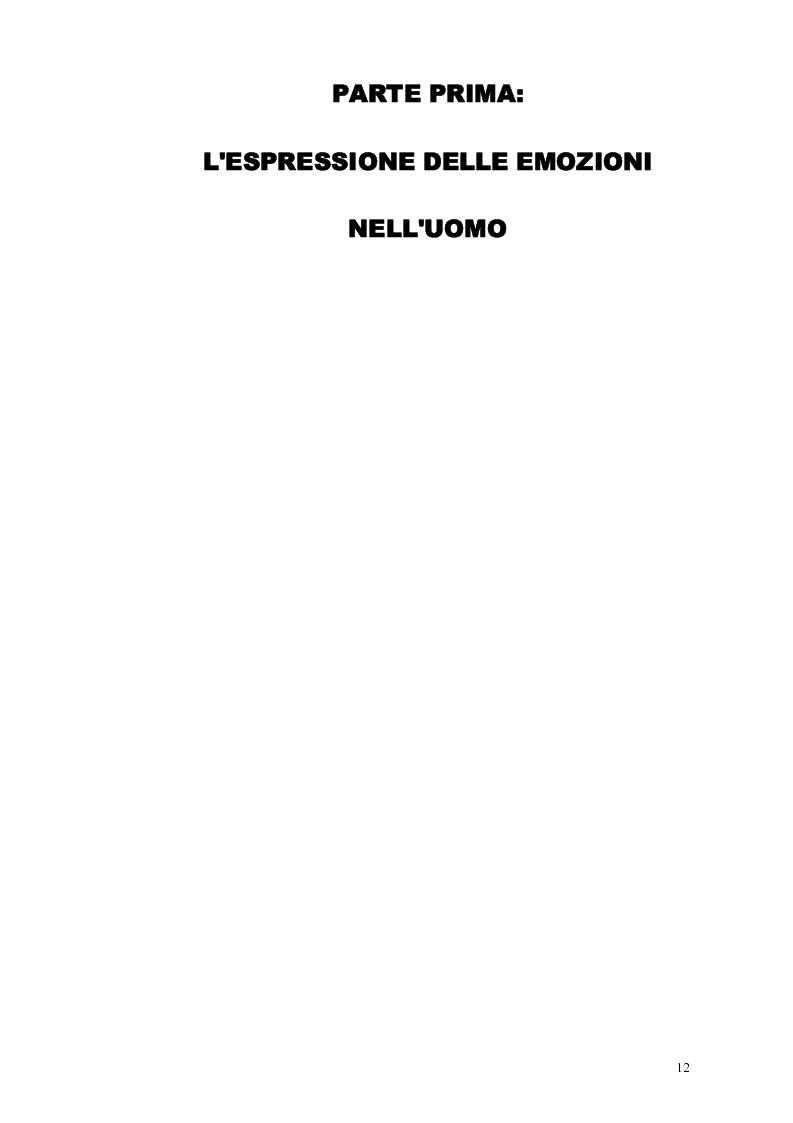 Anteprima della tesi: Smascherando Homer: indici visivi e verbali delle emozioni nei cartoni animati, Pagina 7